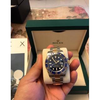 サブマリーナシリーズ116613LB-97203ブルーディスクウォッチ(腕時計(アナログ))
