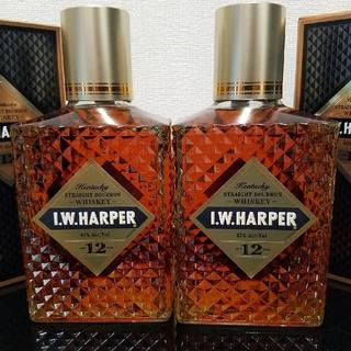IW ハーパー 12年 750ml 2本セット(ウイスキー)