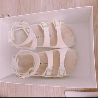 サカイ(sacai)の【sacai】サンダル 箱ありは+500円(サンダル)
