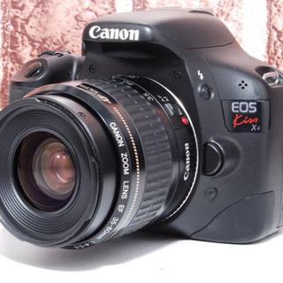 キヤノン(Canon)の★Wi-Fiセット★Canon EOS Kiss X4 レンズセット キャノン(デジタル一眼)