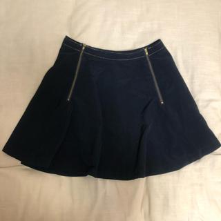 ジーユー(GU)のGU ジーユー ミニスカート フレアスカート Mサイズ(ミニスカート)