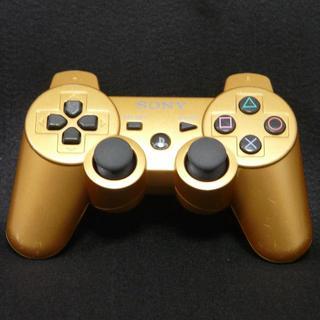 プレイステーション3(PlayStation3)のPS3 純正 コントローラー ゴールド DUALSHOCK3   6(家庭用ゲーム機本体)