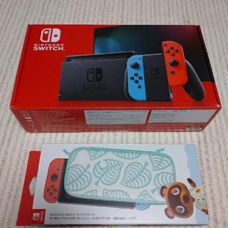 Nintendo Switch 本体 ニンテンドー スイッチ ネオン(家庭用ゲーム機本体)