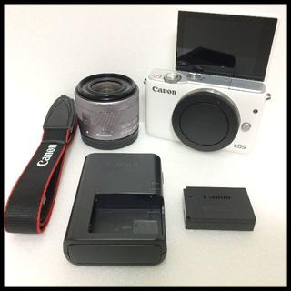 キヤノン(Canon)のCANON ミラーレス EOS M10  標準レンズ(ミラーレス一眼)