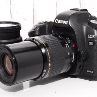 キヤノン(Canon)の★プロも愛用★Canon 5D mark II ダブルレンズセット(デジタル一眼)