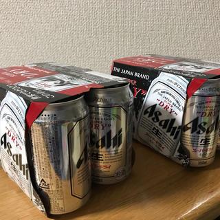 アサヒ(アサヒ)のアサヒスーパードライ  (訳あり)350ml✖️12缶(ビール)