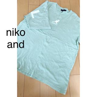 カンゴール(KANGOL)のniko and(Tシャツ(半袖/袖なし))