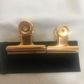 ピースマイナスワン(PEACEMINUSONE)の未使用 peaceminusone クリップ ゴールド 金(キャップ)