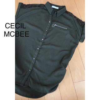 セシルマクビー(CECIL McBEE)のCECIL MCBEE(シャツ/ブラウス(半袖/袖なし))