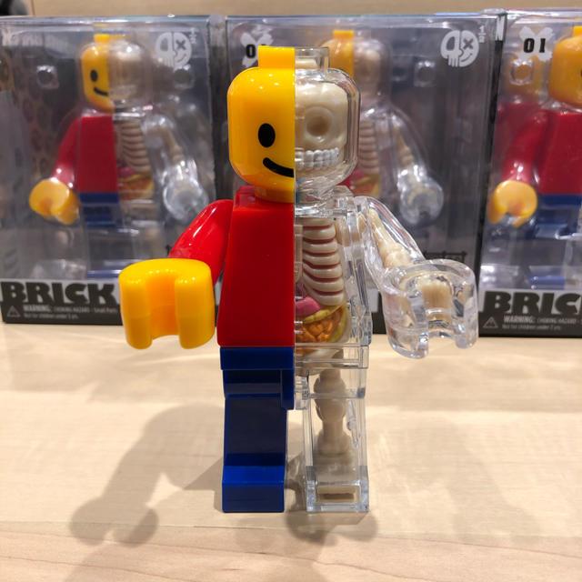MEDICOM TOY(メディコムトイ)のJason Freeny ブリックマン フィギュア レゴ LEGO ミニフィグ エンタメ/ホビーのおもちゃ/ぬいぐるみ(キャラクターグッズ)の商品写真