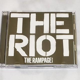 ザランページ(THE RAMPAGE)のTHE RIOT(DVD付)(ポップス/ロック(邦楽))
