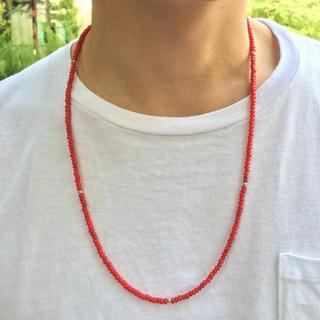 ホワイトハーツ ネックレス【約64cm】メンズ ネックレス ゴローズ 好きに(ネックレス)