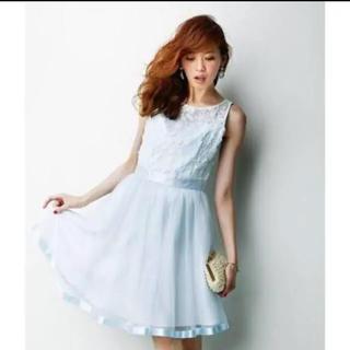 アプワイザーリッシェ(Apuweiser-riche)のドレス ワンピース(ミニドレス)