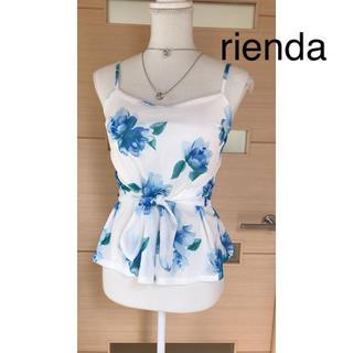 リエンダ(rienda)のrienda   (カットソー(半袖/袖なし))
