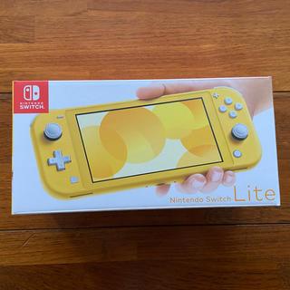 Nintendo Switch - 新品未開封 Nintendo Switch Lite 本体 イエロー
