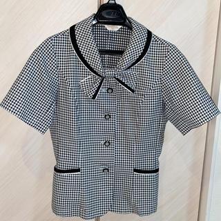 ジョア(Joie (ファッション))の事務服 ピエ オーバーブラウス 5号(シャツ/ブラウス(半袖/袖なし))