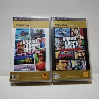 プレイステーションポータブル(PlayStation Portable)の☆グランドセフトオート(2タイトル)☆(携帯用ゲームソフト)