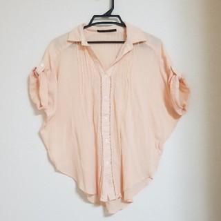 イーブス(YEVS)のYEVS イーブス★2WAY コットンシャツ(Tシャツ(半袖/袖なし))