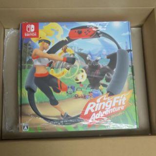 ニンテンドースイッチ(Nintendo Switch)の新品未開封リングフィットアドベンチャー(家庭用ゲームソフト)