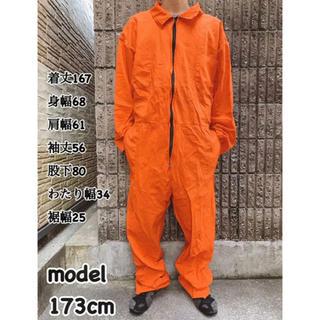 つなぎ オーバーオール カバーオール 46 XL オレンジ BBOY 808(サロペット/オーバーオール)