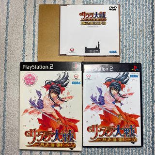 サクラ大戦~熱き血潮に~ 初回プレス版 プレミアムDVD(家庭用ゲームソフト)