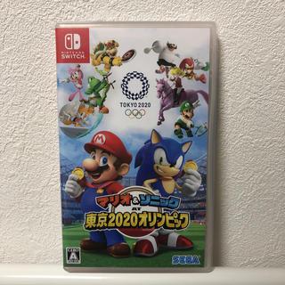 ニンテンドースイッチ(Nintendo Switch)のマリオ&ソニック AT 東京2020オリンピックTM Switch(家庭用ゲームソフト)
