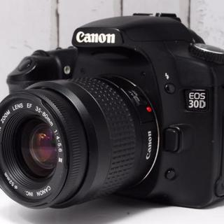 キヤノン(Canon)の★超人気★CANON キャノン EOS 30D レンズキット(デジタル一眼)
