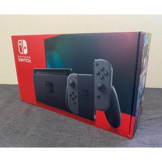 ニンテンドースイッチ(Nintendo Switch)のニンテンドーSwitch【新品未開封】(家庭用ゲーム機本体)