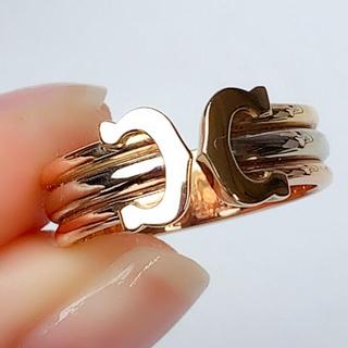 カルティエ(Cartier)のカルティエ リング 2C Cartier C2 スリーカラー 750 #52(リング(指輪))