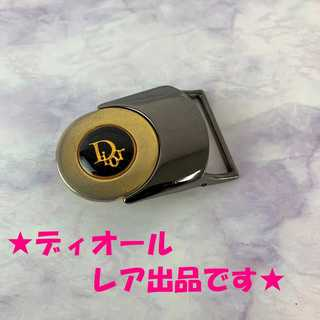 クリスチャンディオール(Christian Dior)の❤決算セール❤ 【ディオール】 ベルト バックル 黒 ロゴ メンズ ブランド(ベルト)