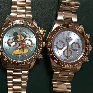 ロレックス(ROLEX)の腕時計 アイスブルー ミッキー&ARABIC DIAL(腕時計(アナログ))