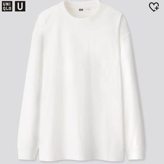 ユニクロ(UNIQLO)のユニクロ 長袖Tシャツ クルーネックT トップス(Tシャツ/カットソー(七分/長袖))