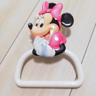 ディズニー(Disney)のミニーちゃんのタオル掛け(タオル/バス用品)