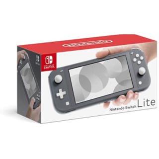 ニンテンドースイッチ(Nintendo Switch)のNintendo スイッチライト グレー 新品(家庭用ゲーム機本体)