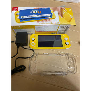 ニンテンドースイッチ(Nintendo Switch)の任天堂SwitchLITE本体イエロー中古(携帯用ゲーム機本体)