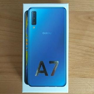 【新品】Galaxy A7 simフリー本体(スマートフォン本体)