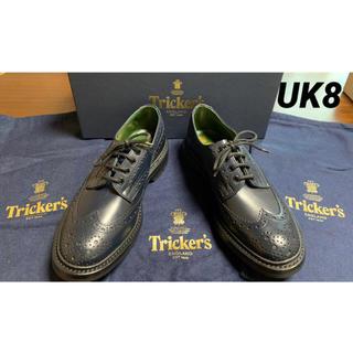 トリッカーズ(Trickers)の【超極上品】Tricker's BOURTON M5633 ネイビー新品 uk8(ドレス/ビジネス)