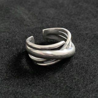 シルバー925 クロスラインリング silver925 シルバー(リング(指輪))