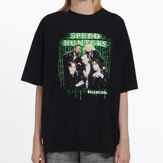 DUDE9 バレンシアガ speedhunters Tシャツ Lサイズ(Tシャツ/カットソー(半袖/袖なし))