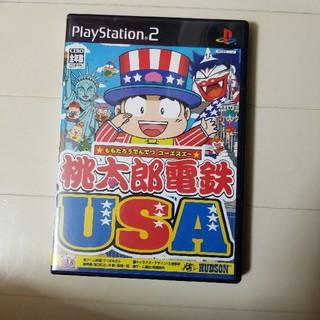 プレステ2  桃太郎電鉄USA(家庭用ゲームソフト)
