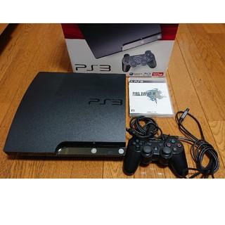プレイステーション3(PlayStation3)のPlayStation3 PS3本体 ソフト1つ 動作確認済み(家庭用ゲーム機本体)