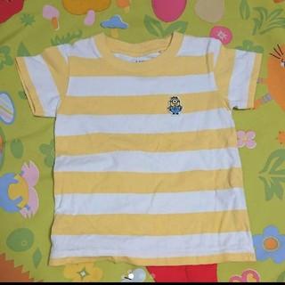 ユニクロ(UNIQLO)のミニオン 100 ボーダー Tシャツ(Tシャツ/カットソー)