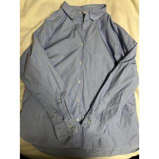 ユニクロ(UNIQLO)のユニクロ エクストラファインコットンストライプシャツ(シャツ/ブラウス(長袖/七分))