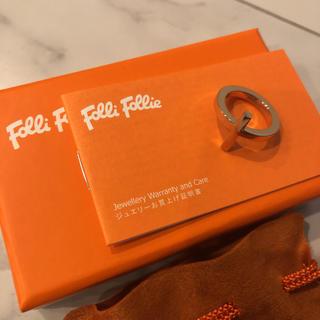 フォリフォリ(Folli Follie)のフォリフォリ リング 指輪 12号 ピンクゴールド(リング(指輪))
