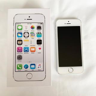 アイフォーン(iPhone)のiPhone5s 本体 32GB ワイモバイル シルバー【付属品未使用】(スマートフォン本体)