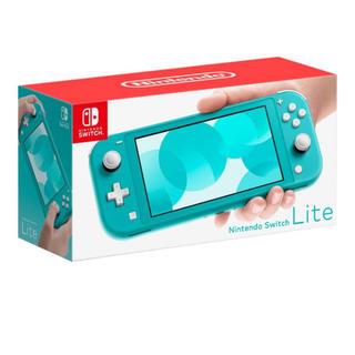 ニンテンドースイッチ(Nintendo Switch)のニンテンドースイッチ ターコイズ(家庭用ゲーム機本体)