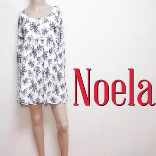 ノエラ(Noela)の間違いなし♪ノエラ 大人フラワー ルーズワンピース♡ミーア スナイデル(ミニワンピース)