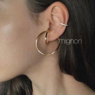 Ron Herman - loop  ear cuff 《gold》