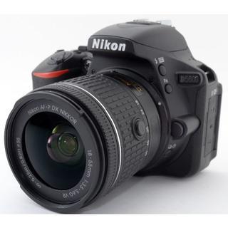 ニコン(Nikon)のNikon D5600 一眼レフカメラ❤スマホに送れる❤(デジタル一眼)