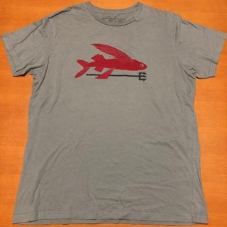 パタゴニア(patagonia)の超希少 パタゴニア Tシャツ USA製 ビッグプリント L(Tシャツ/カットソー(半袖/袖なし))